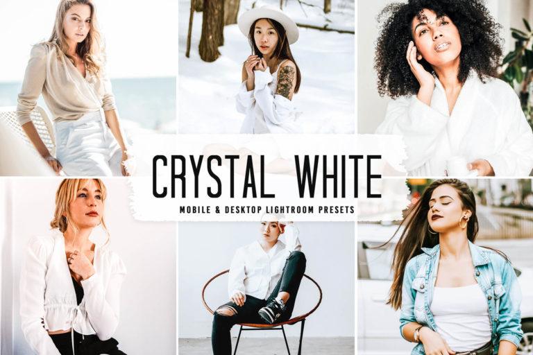Preview image of Crystal White Mobile & Desktop Lightroom Presets