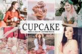 Last preview image of Cupcake Mobile & Desktop Lightroom Presets