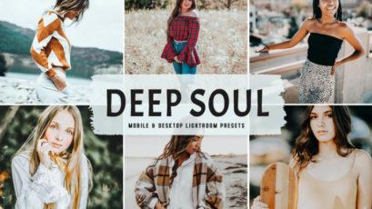 Deep Soul Mobile & Desktop Lightroom Presets
