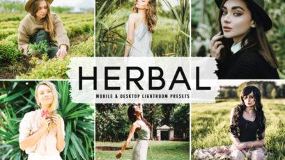 Herbal Mobile & Desktop Lightroom Presets