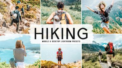 Hiking Mobile & Desktop Lightroom Presets