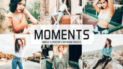 Moments Mobile & Desktop Lightroom Presets