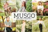 Last preview image of Musgo Mobile & Desktop Lightroom Presets