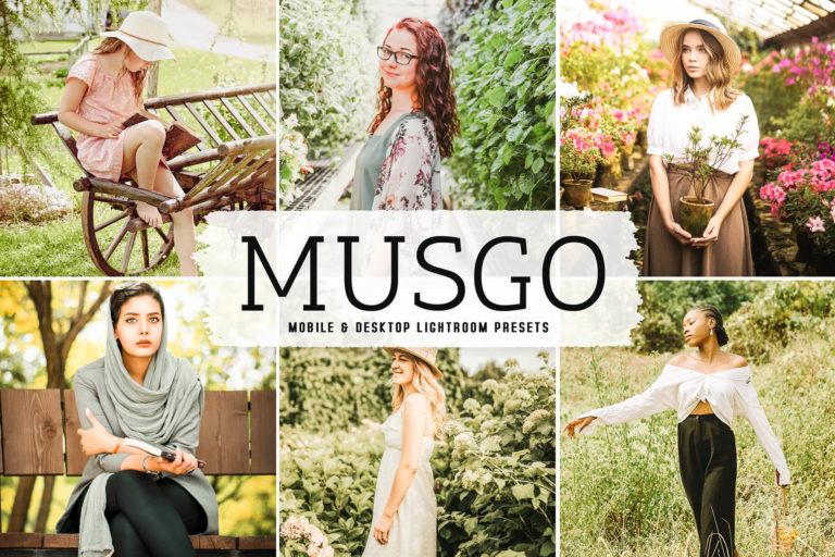 Preview image of Musgo Mobile & Desktop Lightroom Presets