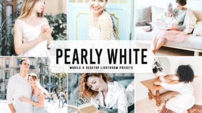 Pearly White Mobile & Desktop Lightroom Presets