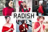 Last preview image of Radish Mobile & Desktop Lightroom Presets