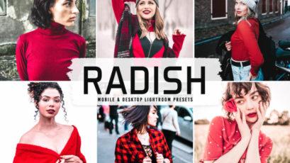 Radish Mobile & Desktop Lightroom Presets