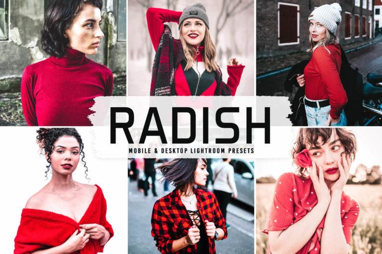 Preview image of Radish Mobile & Desktop Lightroom Presets