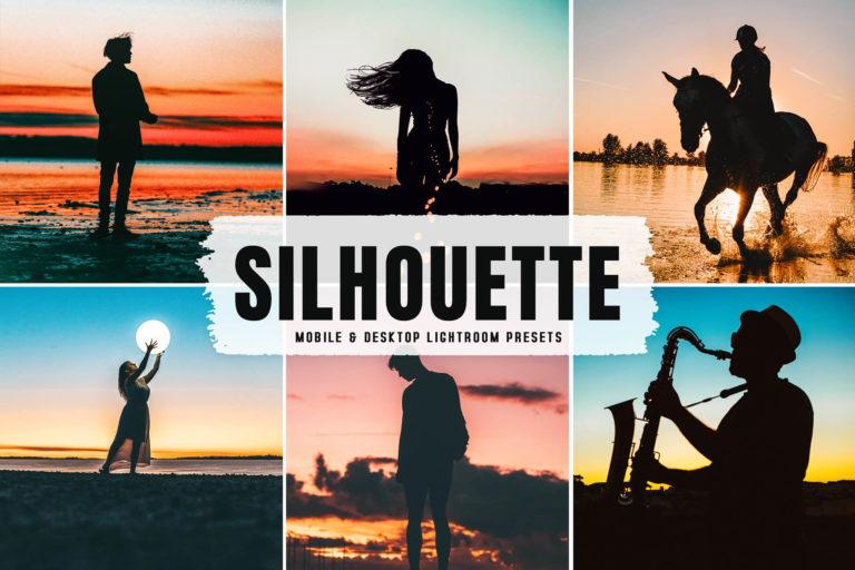 Preview image of Silhouette Mobile & Desktop Lightroom Presets