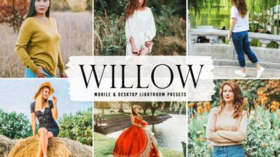 Willow Mobile & Desktop Lightroom Presets