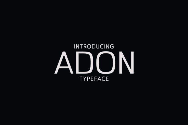 Preview image of Adon Sans Serif Typeface