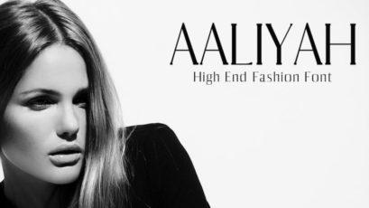 Aaliyah Serif Typeface