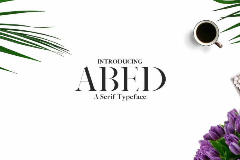 Preview image of Abed Serif Typeface