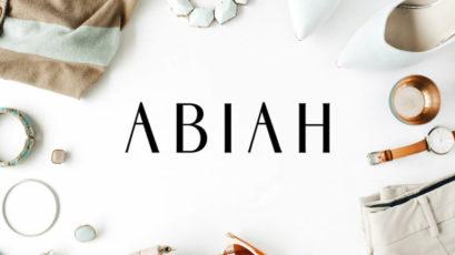 Abiah Sans Serif Font Family