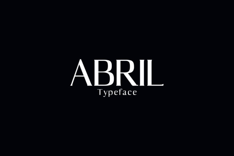 Preview image of Abril Serif Typeface