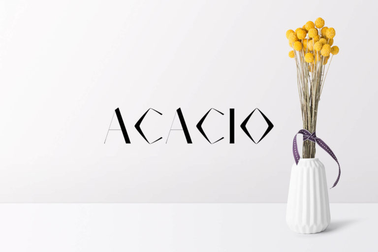Preview image of Acacio Serif Font Family Pack