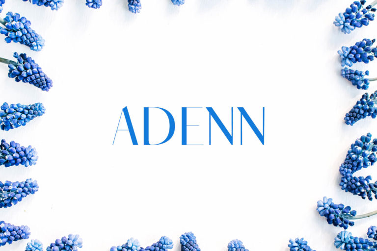 Preview image of Adenn Serif Typeface