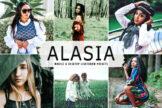 Last preview image of Alasia Mobile & Desktop Lightroom Presets