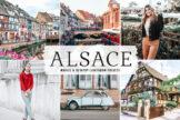 Last preview image of Alsace Mobile & Desktop Lightroom Presets