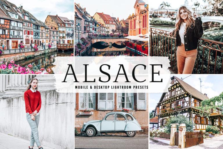 Preview image of Alsace Mobile & Desktop Lightroom Presets