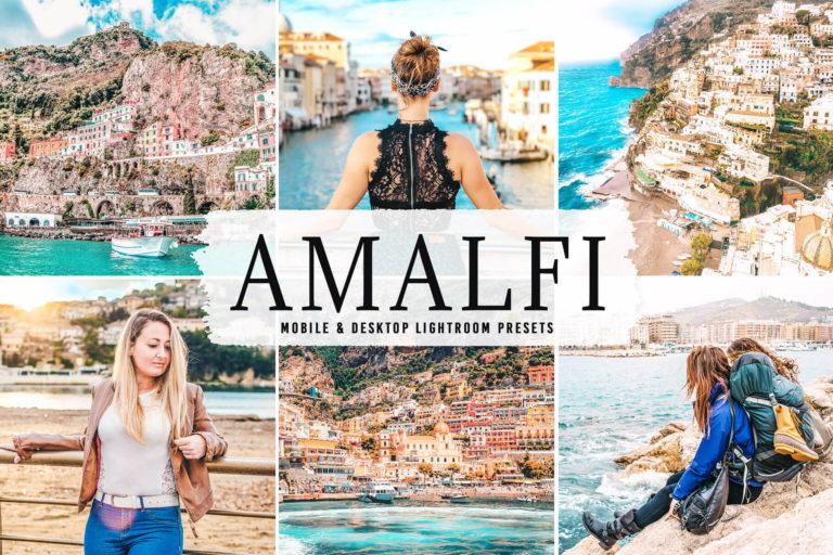 Preview image of Amalfi Mobile & Desktop Lightroom Presets