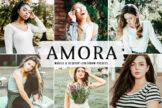 Last preview image of Amora Mobile & Desktop Lightroom Presets
