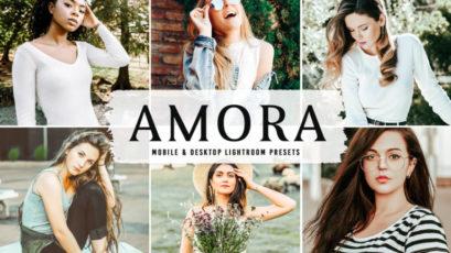 Amora Mobile & Desktop Lightroom Presets