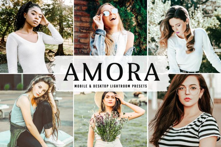 Preview image of Amora Mobile & Desktop Lightroom Presets