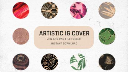 Artistic Instagram Highlight Cover