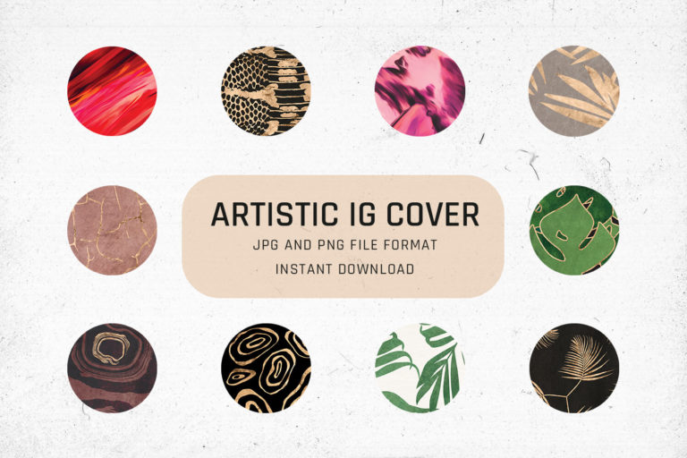 Preview image of Artistic Instagram Highlight Cover