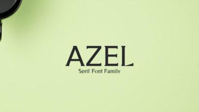 Azel Serif Font Family Pack