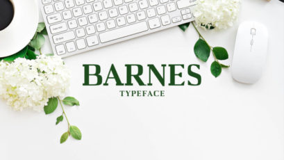 Barnes Serif Typeface
