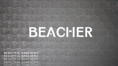 Beacher Sans Serif Font Family