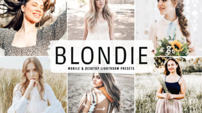 Blondie Mobile & Desktop Lightroom Presets