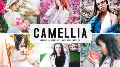 Camellia Mobile & Desktop Lightroom Presets