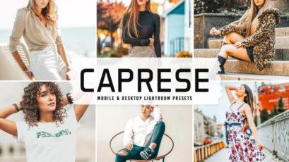 Caprese Mobile & Desktop Lightroom Presets V2