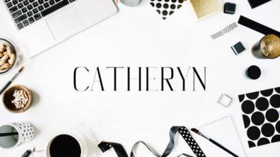 Catheryn Serif Typeface