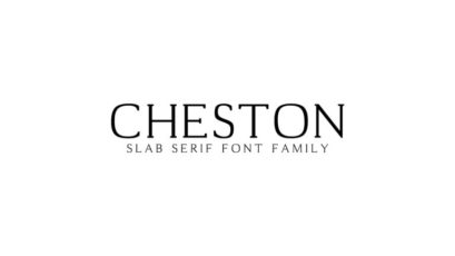 Cheston Slab Serif Font Family