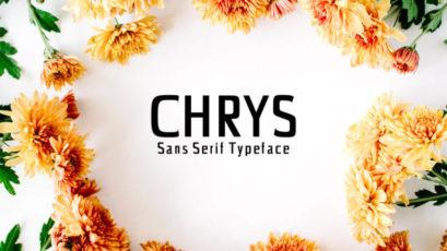 Chrys Sans Serif Font Family