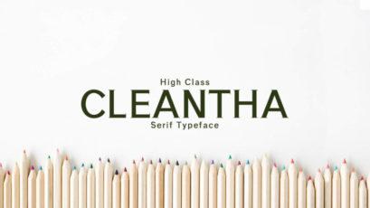 Cleantha Serif Typeface