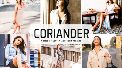 Coriander Mobile & Desktop Lightroom Presets