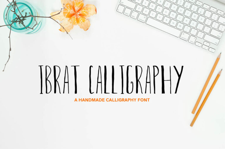 Preview image of Ibrat Calligraphy Font