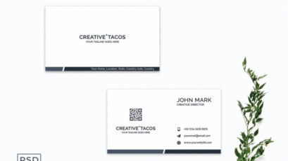 Creative Minimalist Business Card Template V3