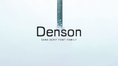 Denson Sans Serif Font Family