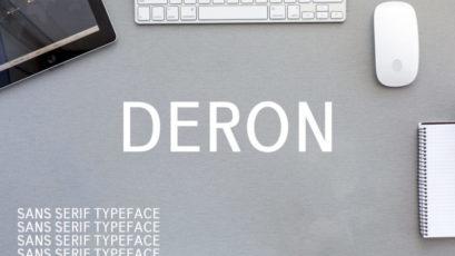 Deron Sans Serif Font Family Pack