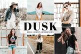 Last preview image of Dusk Mobile & Desktop Lightroom Presets