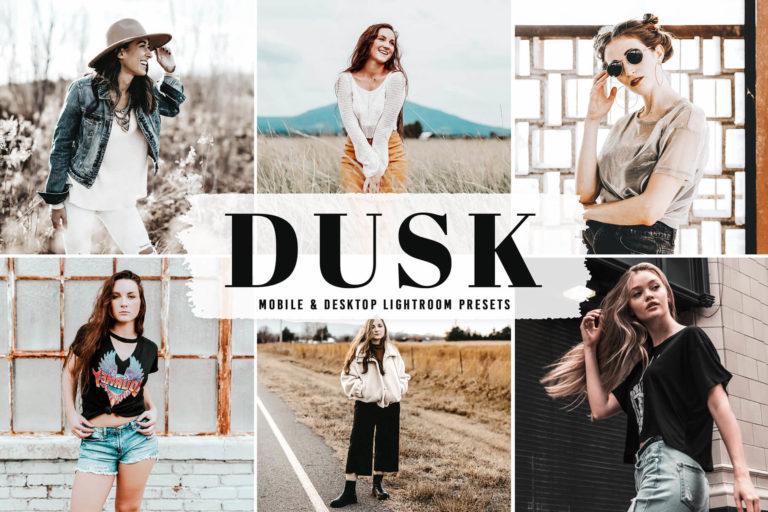 Preview image of Dusk Mobile & Desktop Lightroom Presets