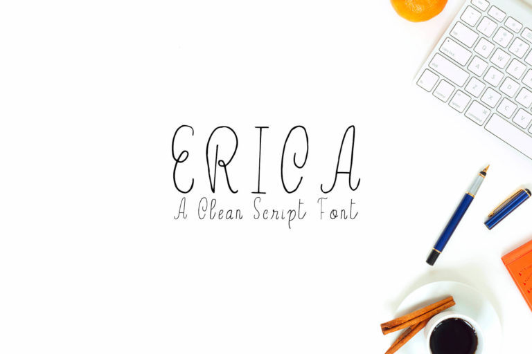 Preview image of Erica Script Font