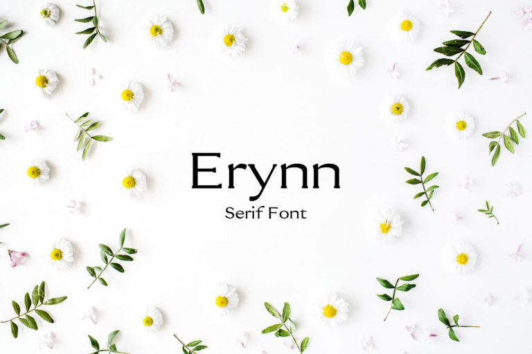 Preview image of Erynn Serif Font