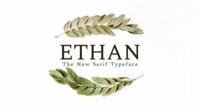 Ethan Serif Font Family Pack